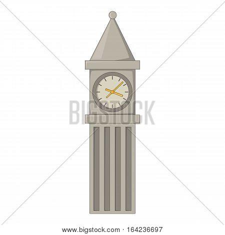 Big Ben in London icon. Cartoon illustration of Big Ben in London vector icon for web design