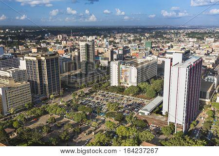 North East Nairobi Business District, Kenya, Editorial