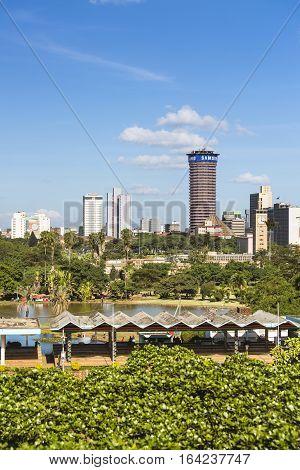 Kicc Building In Nairobi, Kenya, Editorial