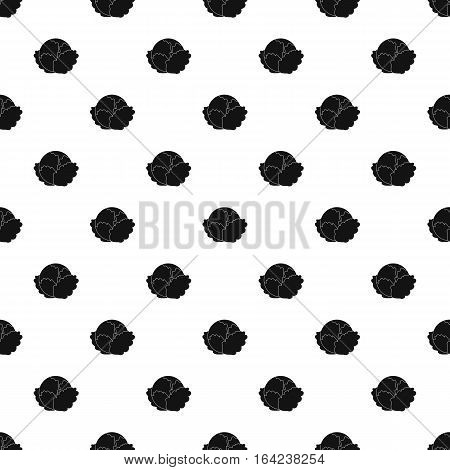 Cabbage pattern. Simple illustration of cabbage vector pattern for web