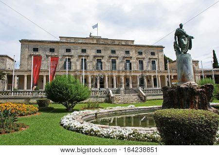 Museum of asian art in Corfu Greece