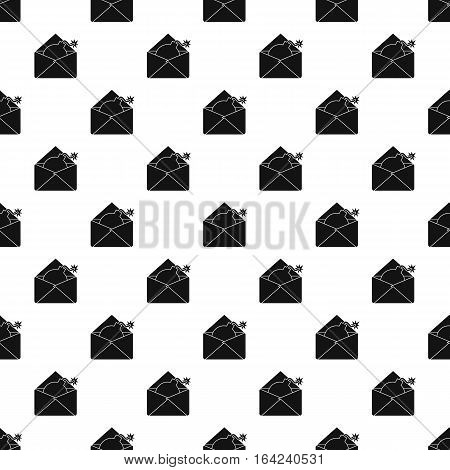 Hacking e-mail pattern. Simple illustration of hacking e-mail vector pattern for web
