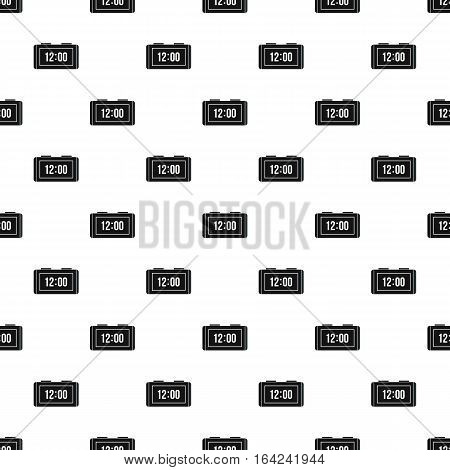Table electronic watch pattern. Simple illustration of table electronic watch vector pattern for web