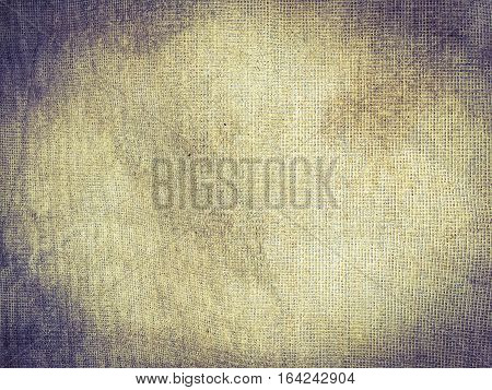 Old sackcloth woven texture pattern background .