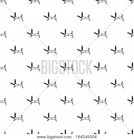 Multifunctional pocket knife pattern. Simple illustration of multifunctional pocket knife vector pattern for web