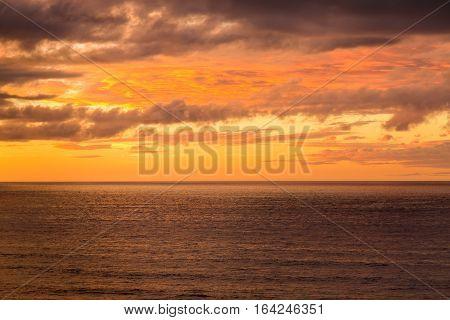 Early Evening On The Coast In Sidi Ifni