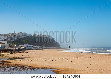 View Of The Beach In Sidi Ifni