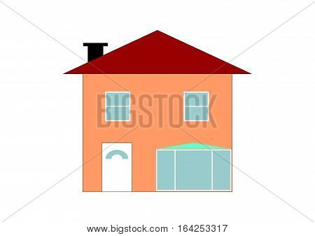 Single House Illustration