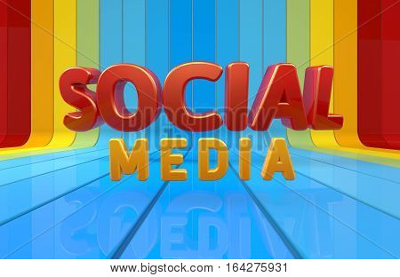 3D Rendering, Social, Media, Web Development Technology, Design and Presentation