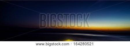 close up shot of the sea sunset