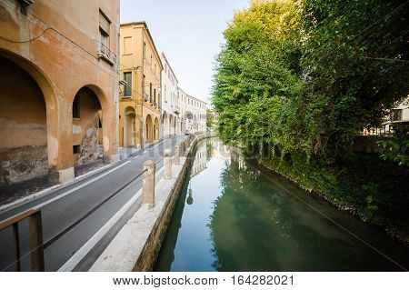 Treviso. Italy.is the capital of the province of Treviso