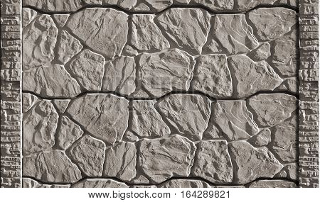 Stone Fence Texture