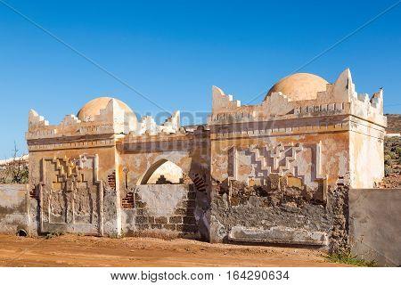 Cemetery In Sidi Ifni, Morocco.