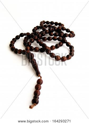 Rosary pictures taken while performing a prayer