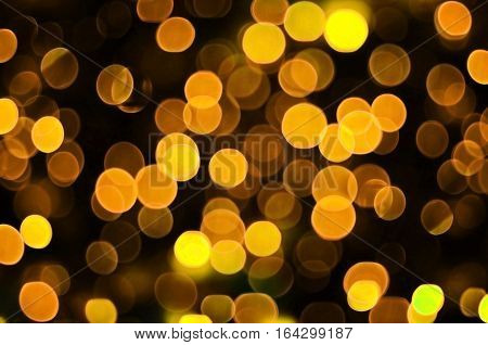 Background Image With Artistic Bokeh Effect