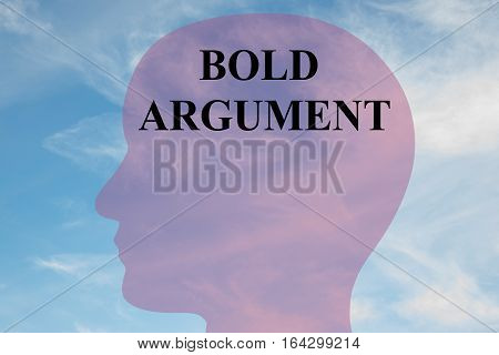 Bold Argument Concept