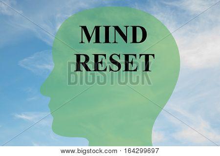 Mind Reset Concept