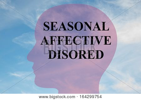 Seasonal Affective Disorder Concept