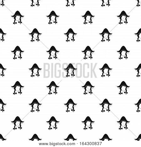 Girl dutch pattern. Simple illustration of girl dutch vector pattern for web
