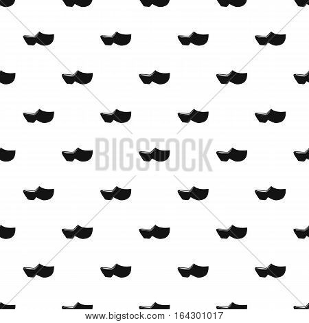 Clogs pattern. Simple illustration of clogs vector pattern for web
