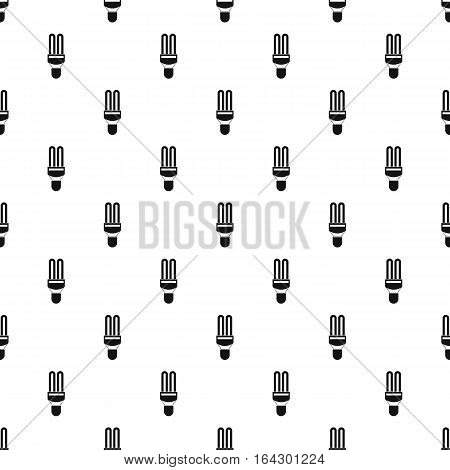 Electric lamp pattern. Simple illustration of electric lamp vector pattern for web