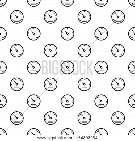 Sport speedometer pattern. Simple illustration of sport speedometer vector pattern for web