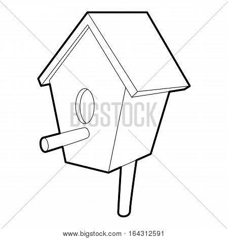 Nesting box icon. Isometric 3d illustration of nesting box vector icon for web
