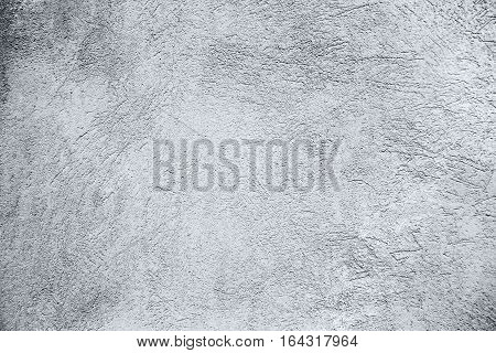 Abstract Grunge Old Concrete Wall Texture. Rough Monochrome Background Plastered Surface Close up. Can be used as texture for styling photos