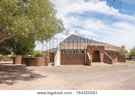 The Reformed Church in Jacobsdal a small town in the Free State Province.