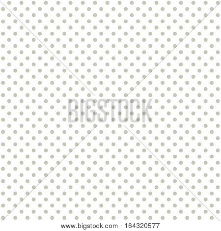 Seamless Background Green Dots