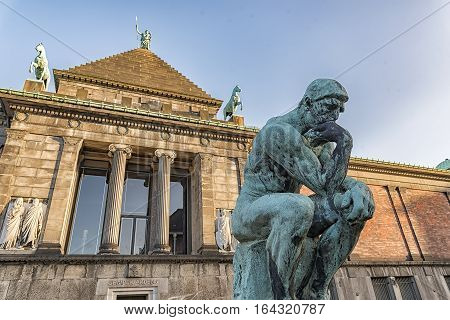 The Ny Carlsberg Glyptotek is an art museum in Copenhagen Denmark.