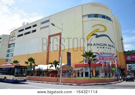 Prangin Mall Located In Georgetown, Penang