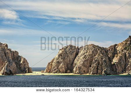 Lovers beach in Cabo San Lucas, Mexico