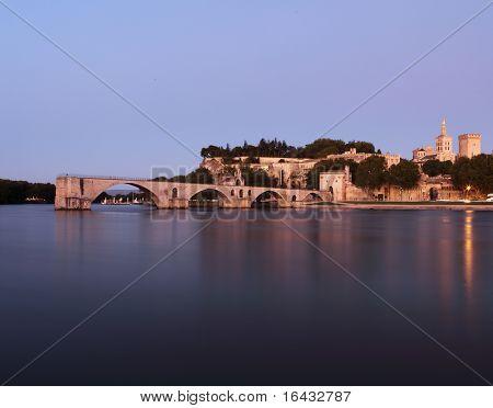 Avignon, France (color toned image)