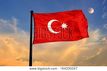 Ottoman Flag, Ottoman Empire, Flag Design and Presentation