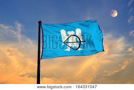 Seljuk Empire Flag, Seljuk Empire, Flag Design and Presentation
