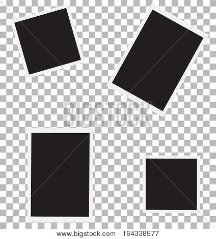 set of photo backgrounds for your picture. photo frame sign.