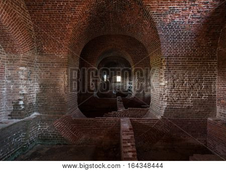 Brick Fort Ruins