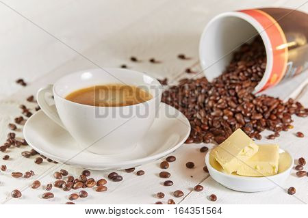 Bulletproof Coffee With Butter And Beans