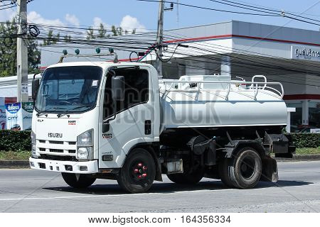 Private Of Sewage Truck.