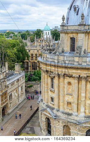 Oxford, United Kingdom - August 21, Radcliffe Camera On August 21, 2016 In Oxford, United Kingdom. R