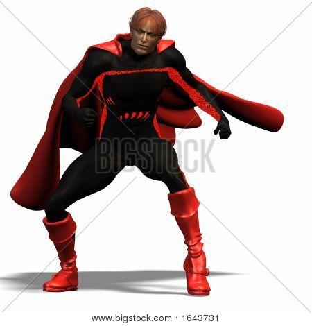 Red Super Hero #3