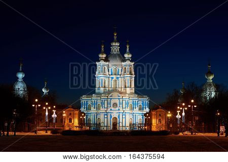 Place of Interest in Saint-Petersburg. Smolny Convent this is one of the most beautiful churches in St. Petersburg