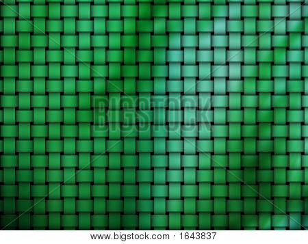 various green weave pattern for background and wallpaper poster