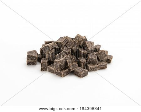 Chocolate Chunks In A Pile