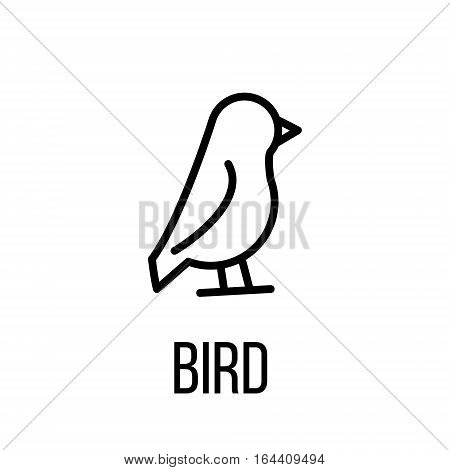 Nature icon or logo in modern line style. High quality black outline pictogram for web site design and mobile apps. Vector illustration on a white background.