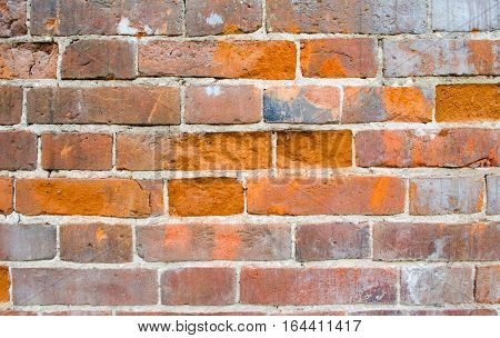 Old brick wall paid close. Background image