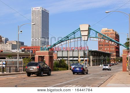 Historic Third Ward District, Milwaukee, Wisconsin