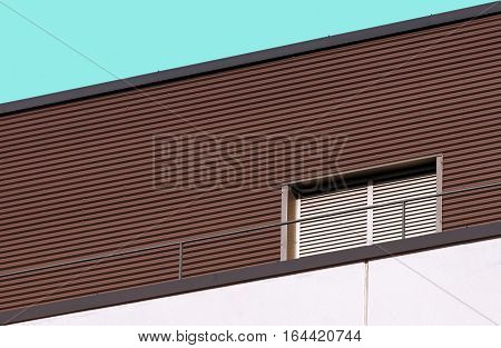 Detail of abstract looking modern architecture building
