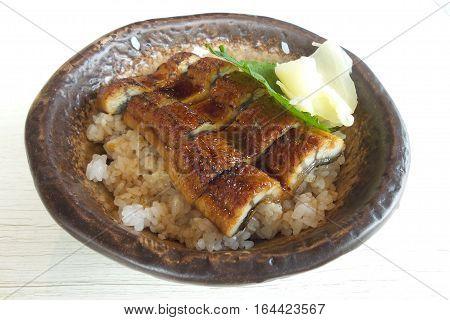 Kabayaki Japanese Food